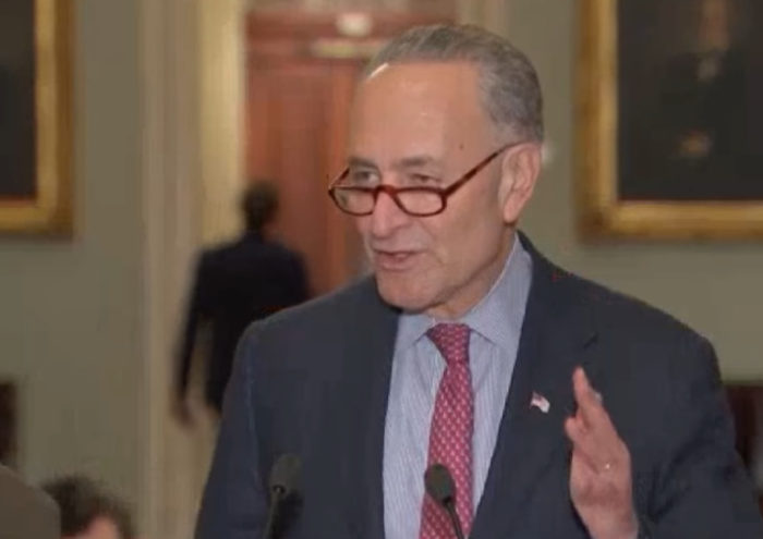 Chuck Schumer Proves Why We Need Neil Gorsuch