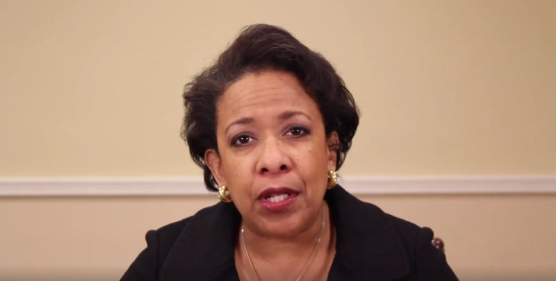 Loretta Lynch Makes Disturbing Video Calling For Dems To Fight Back Like Those Before Us