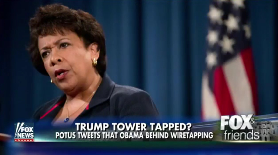 AG Lynch Signed Off On ALL FISA Applications To WireTap Trump