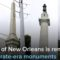 New Orleans Removes Four Confederate Monuments... Confrontation Breaks Out (Video)