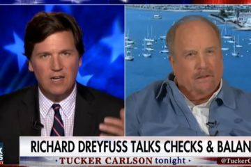 Tucker Gets Surprised By Constitutionalist Actor Richard Dreyfuss On The Importance Of Civics