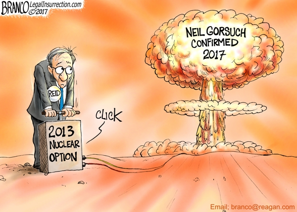 Political Cartoon: Nuclear Reaction
