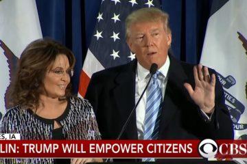 Sarah Palin On Trump's First 100 Days (Audio)