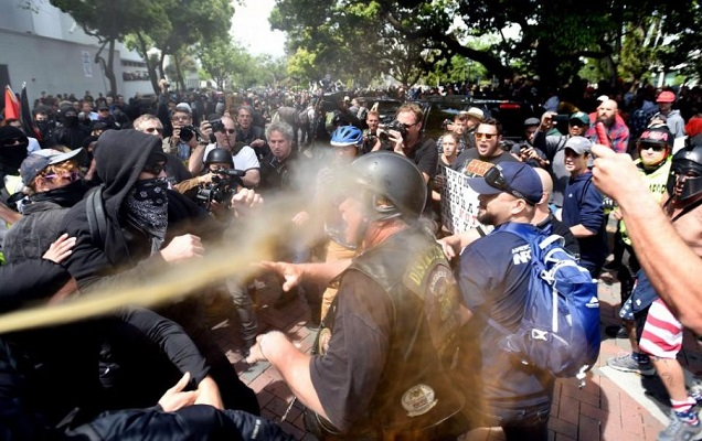 Antifa Terror Group Wants To Ramp Up Violence Against Trump Supporters After Humiliating A*s-Kicking (Video)