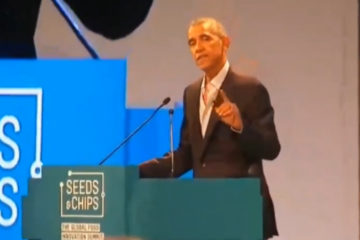Obama Says How Humble He's Become, Speaks In Italy On Cow Flatulence
