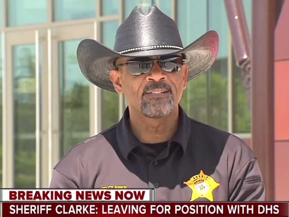 Sheriff David Clarke Has A MAJOR Announcement (Video)