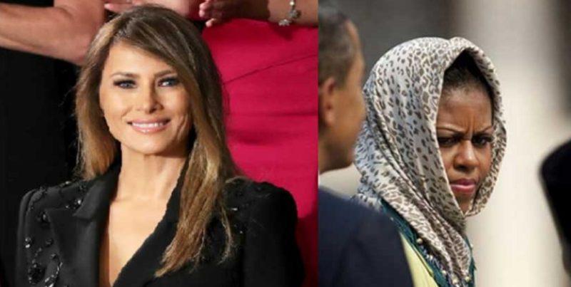 Melania Won't Wear Head Scarf In Saudi Arabia