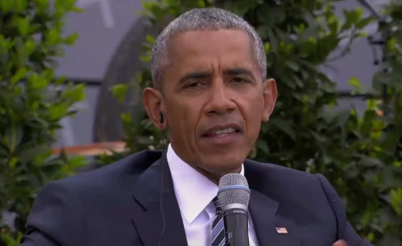 "Obama Welcomed ""Like Rockstar"" In Germany, Says ""We Can't Hide Behind A Wall"""