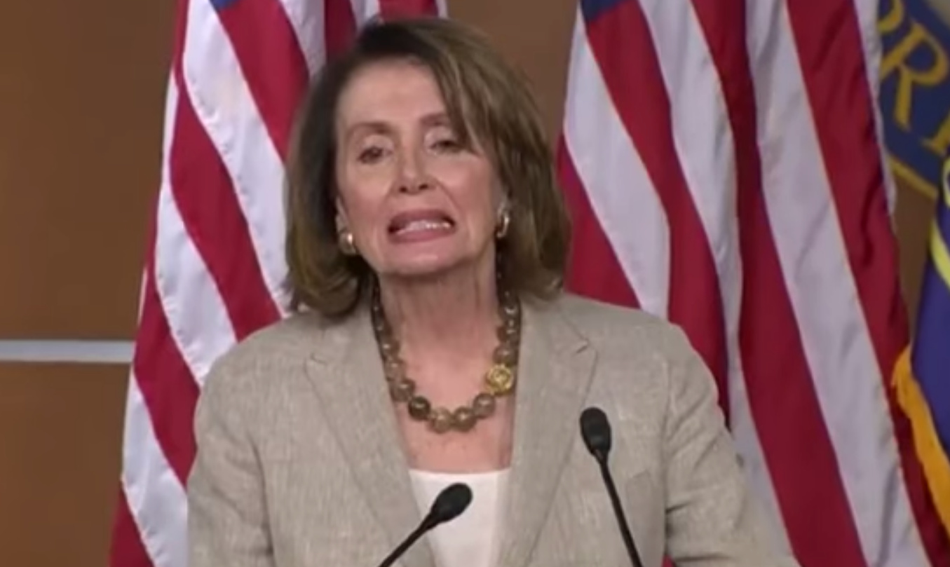 Pelosi Complains President Trump Not Visiting Countries In Alphabetical Order (Video)