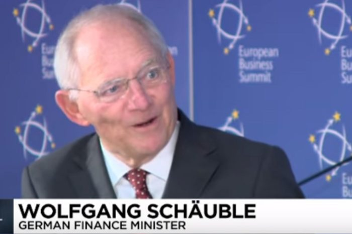 German Finance Minister Wolfgang Schäuble Responds To Manchester Attack: 'Christians Can Learn From Muslim Migrants'