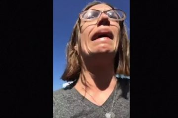 Wow! Woman Totally Freaks Out At Sight Of Confederate Flag Rug (Video)