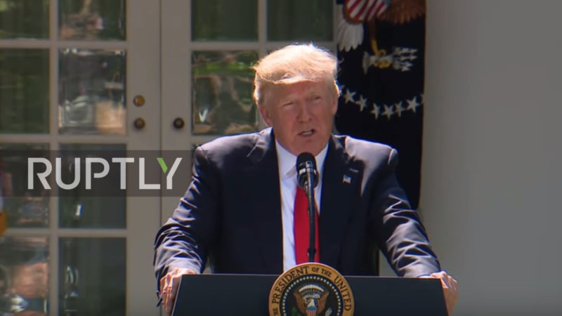 Trump Blasts Phony Climate Change Crybabies (Video)