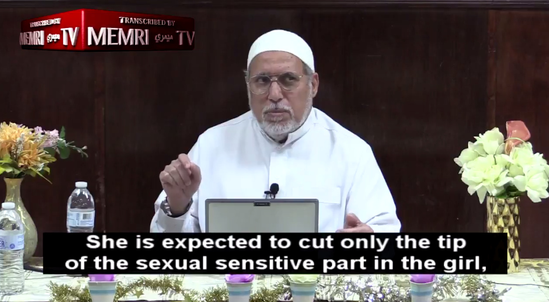 Virginia Imam Endorses Female Genital Mutilation For This Insane Reason! (Video)