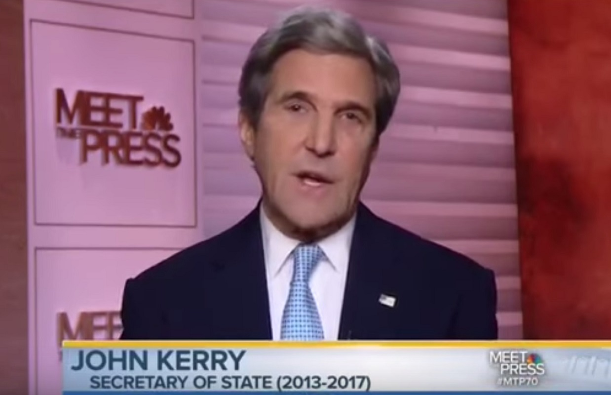 """John Kerry: Travel Ban Is """"Worst Thing We Can Do... Terrorists Are Alienated Without Opportunities"""""""