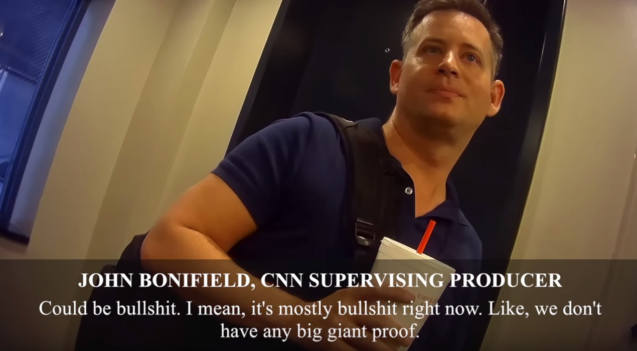 CNN Producer Admits Hyping Mostly BS Trump-Russia Scandal For Ratings... Says It's A Witch Hunt (Caught On Video)