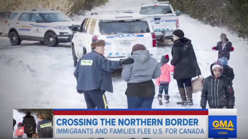 1000's Of Illegal Immigrants Who Fled To Canada Fearing Trump Are Trapped In Legal Limbo Without Jobs, Homes Or Schools