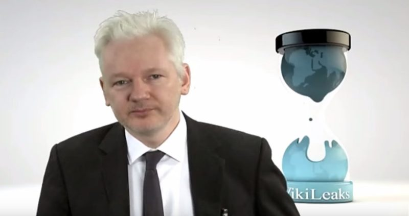 Julian Assange: CNN Committed Crime #CNNBlackmail