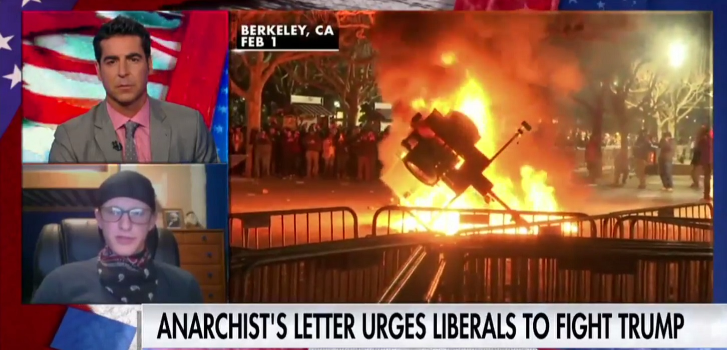 """Insane Antifa Rioter Says Horse They Stabbed In Neck During Riot Was """"Racist Trump Supporter"""" (Video)"""