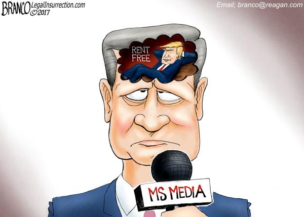 Political Cartoon: Media Trump Derangement Syndrome