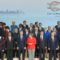 Watch French President Macron Work to Get Next to POTUS Trump in G20 Group Shot