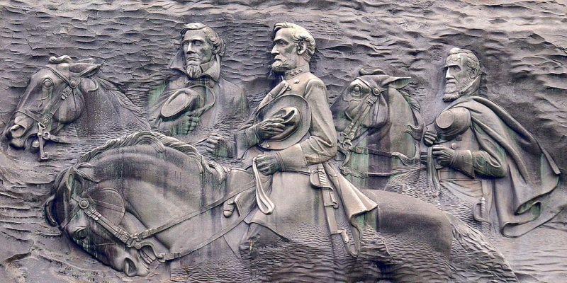 Here We Go: Politician Calls For Removal Of Stone Mountain's Giant Carving Of Confederate Leaders
