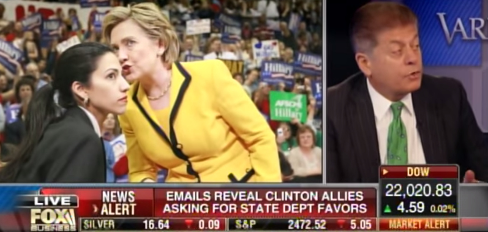"Judge Nap: AG Sessions Can Press Charges Against Hillary... ""Mountain-Load Of Guilt"" (Video)"