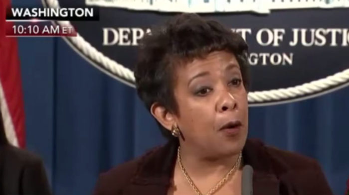REVEALED: Lynch Used Her Grandmother's Name As Alias To Communicate With DOJ Officials