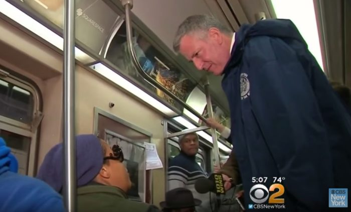 Mayor Bill de Blasio To Push For 'Millionaires Tax' To Pay For Subway Upgrades