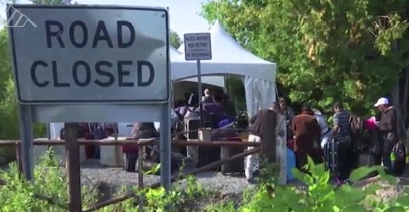 Canadian Military Deploys Along U.S. Border Where Asylum Seekers Are Crossing Illegally