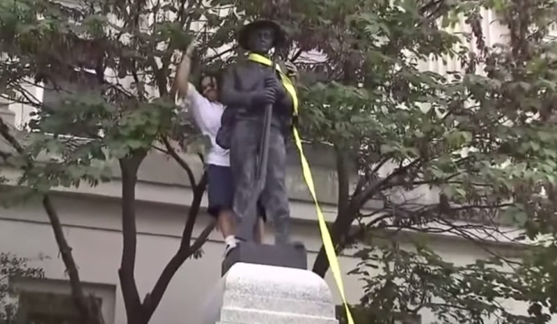Leftist Radical Who Pulled Down Durham Statue May Get Rewarded With College Scholarship Because Of It