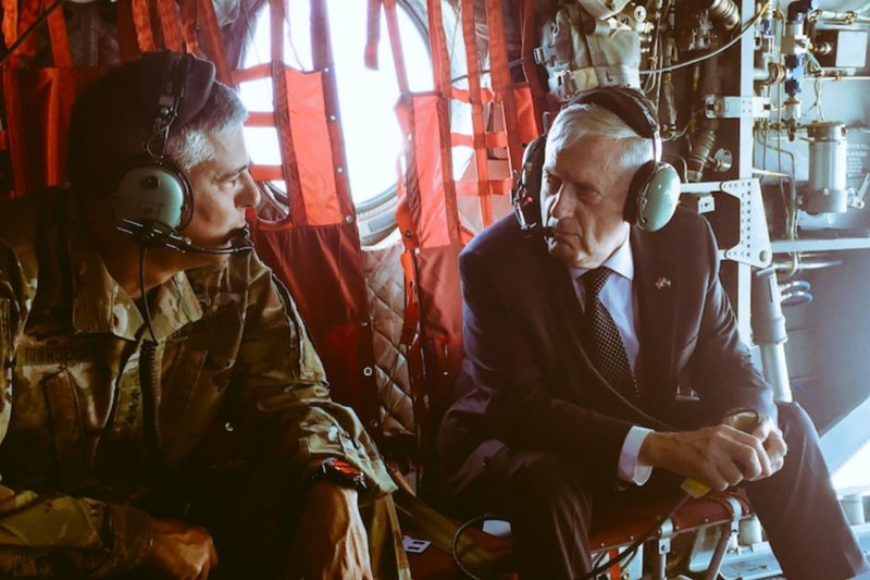 Mattis Made An Unannounced Trip To ISIS's Doorstep To Personally Tell Them They're Going Die