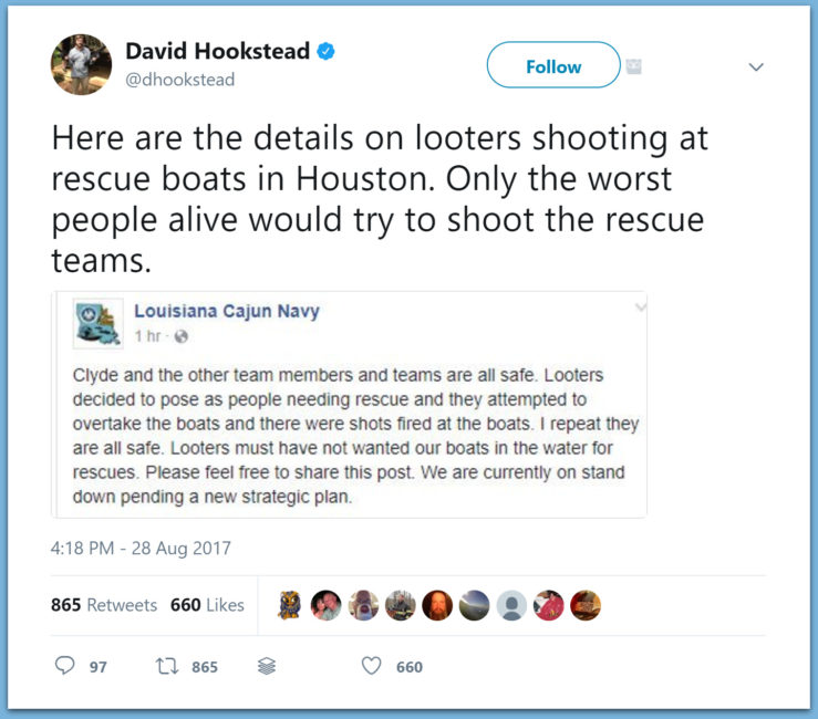 VIDEO REPORT: Looters Opened Fire On 'Cajun Navy' Rescue Boats In Texas