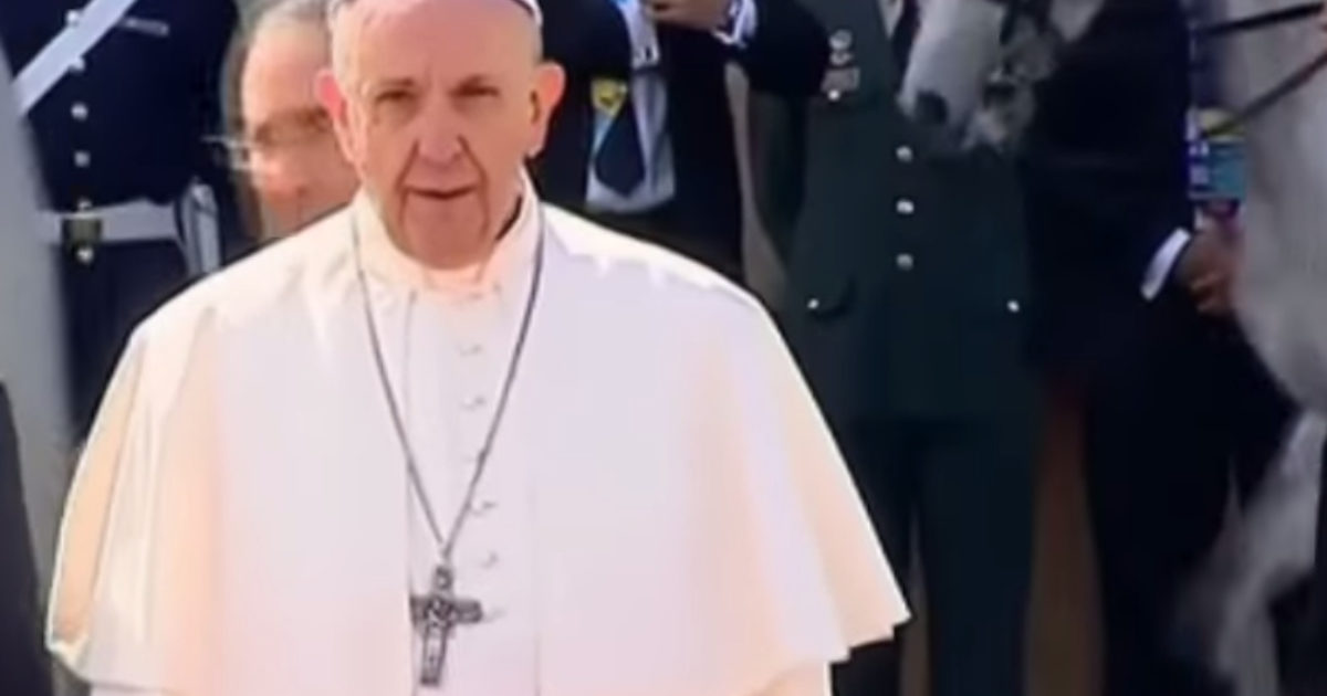 Pope Once Again Shills For Islam On 9/11 Anniversary