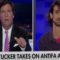 Unhinged Antifa Professor Tells Tucker Antifa Has A Right To Beat Opponents (Video)