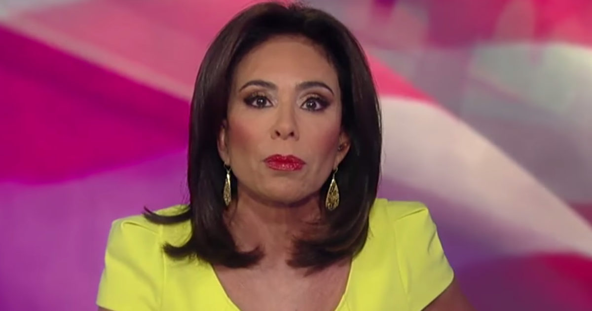 Judge Jeanine Destroys NFL Commissioner Roger Goodell (Video)