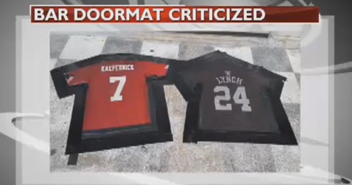 "Bar Uses ""Lynch"" & ""Kaepernick"" Jerseys As Doormats... Liberals Flip Out (Video)"