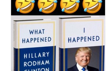 Trump Retweets Meme Mocking Hillary's New Book