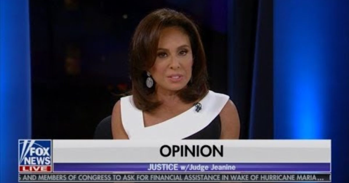 Watch Judge Jeanine Slaughter Establishment Republicans