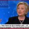 Hillary Says We Need To Explain To Trump Voters That They're Being 'Snookered'