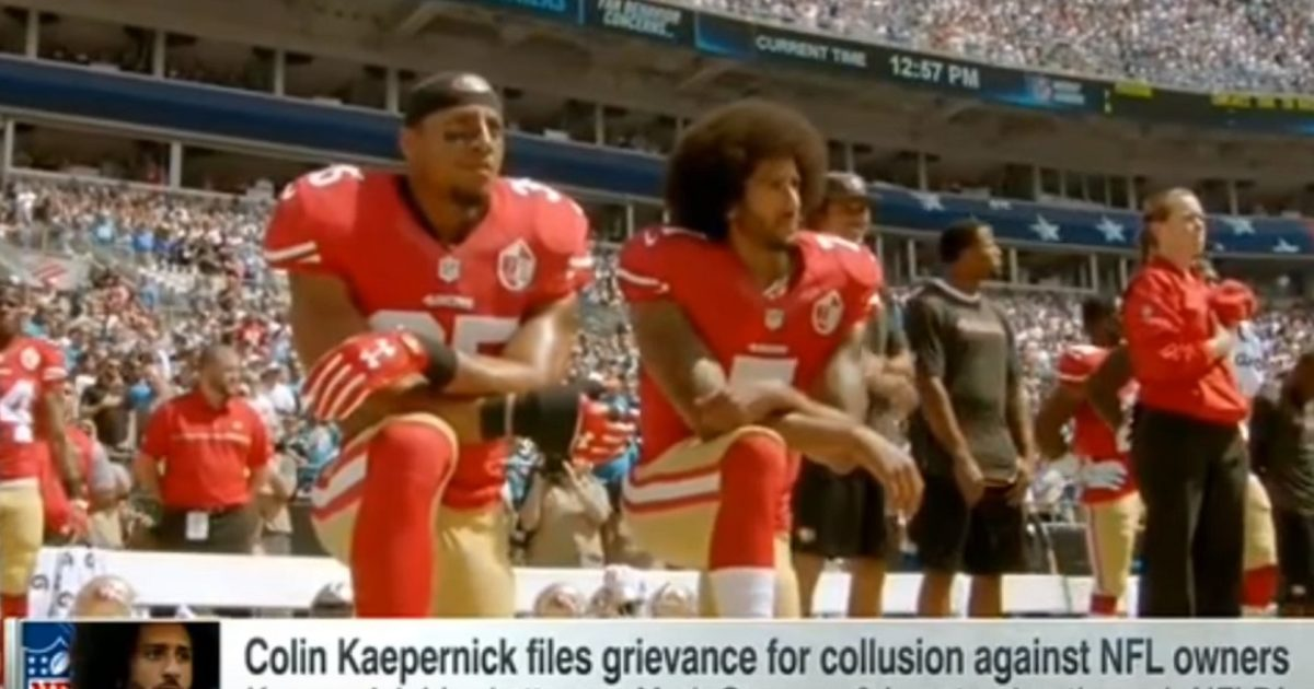 "Kaepernick Files Grievance Against NFL Owners For ""Collusion"""