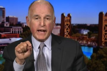 """California Dem Gov. Brown Says Trump """"At War"""" With America... Asks World To Join """"Forceful Opposition"""""""