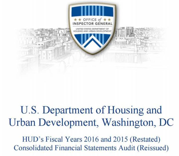 Shocking! HUD Audit Finds $500 Billion in Accounting Errors... So Bad General Counsel Refused to Sign Report