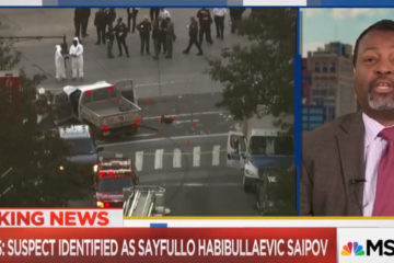 MSNBC Guest: Manhattan Terrorist 'Could Have Been A Former Catholic (Video)