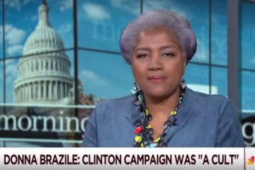 Stating The Obvious Donna Brazile Calls The Clinton Campaign A 'Cult'