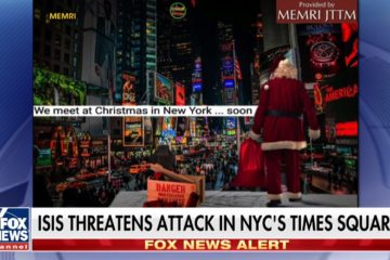 Chilling Warning: ISIS Threatens Christmas Attack On Times Square