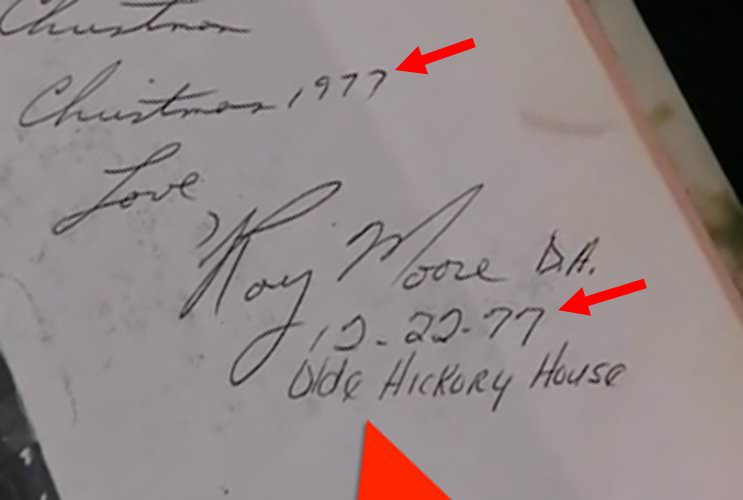 Analyst Says Judge Roy Moore Signature Inside Gloria Allred Accuser's Yearbook Was FORGED