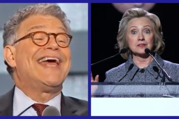 Hillary Comes To Defense Of Al Franken While Attacking Trump & Moore (Audio)