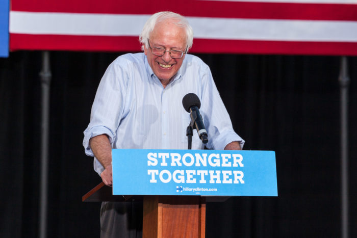 Whew! Democrats Say Crazy Uncle Bernie Is Their #1 Pick For 2020
