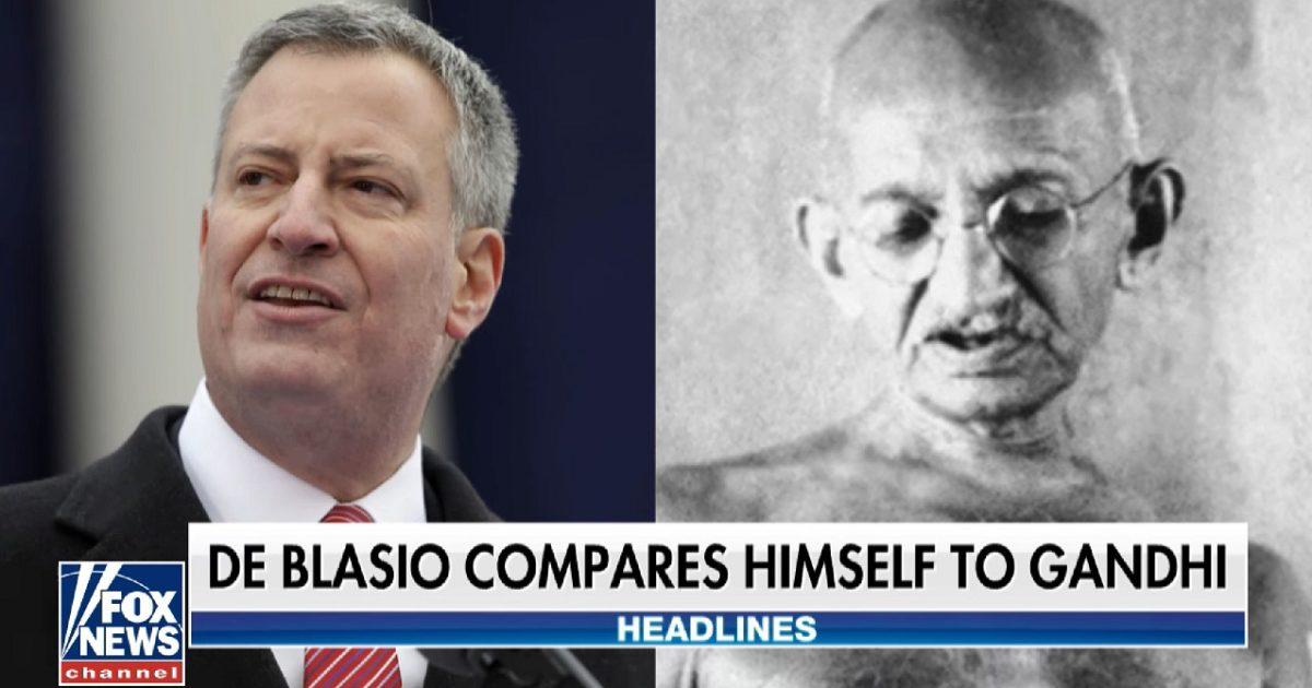 Delusional DemocratCompares Himself To Gandhi