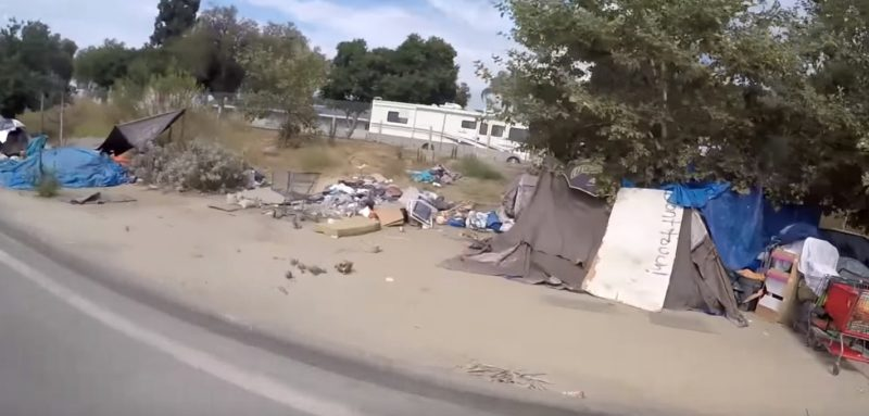 SHOCKING VIDEO: California Under Gov. Jerry Brown... Homeless Camps Explode Across State